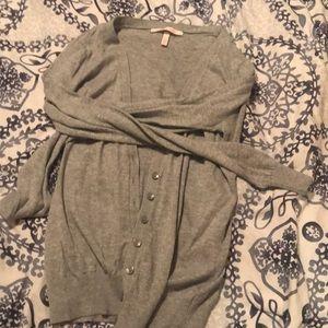 GUC victoria secret gray cardigan stretchy